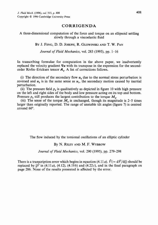 FLUID MECHANICS ARTICLE PDF - Belle PDF