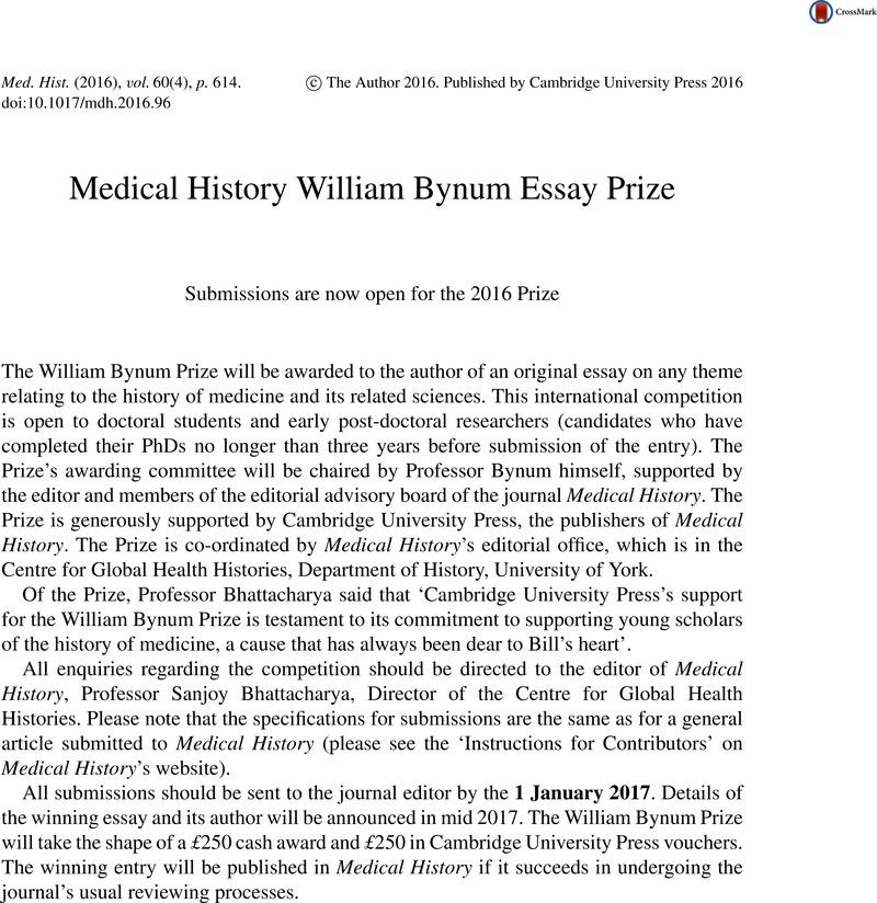 History Essay Prize Cambridge - image 4