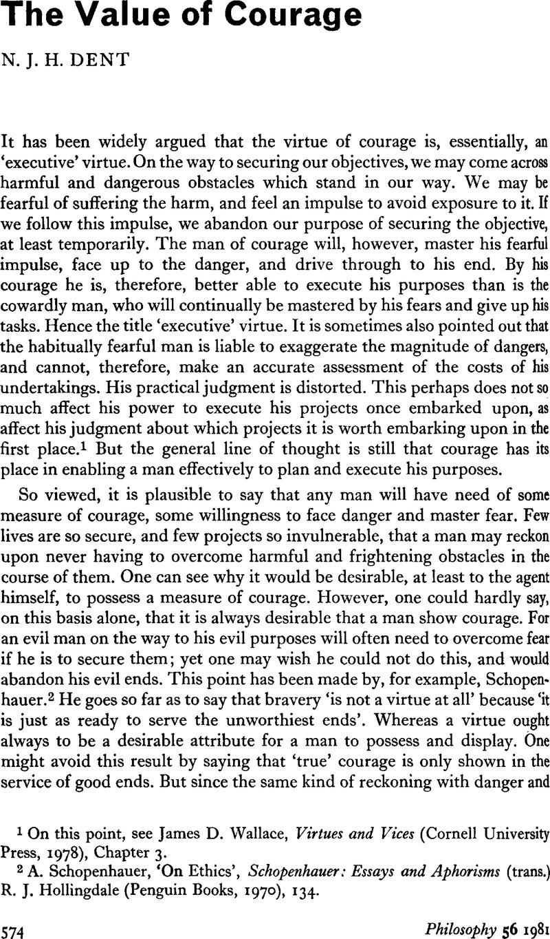 virtue essay
