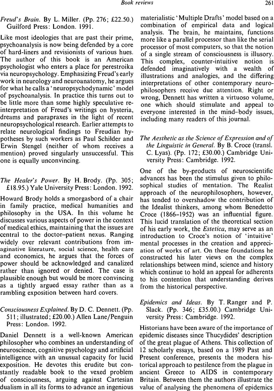 Consciousness Explained Dennett Pdf