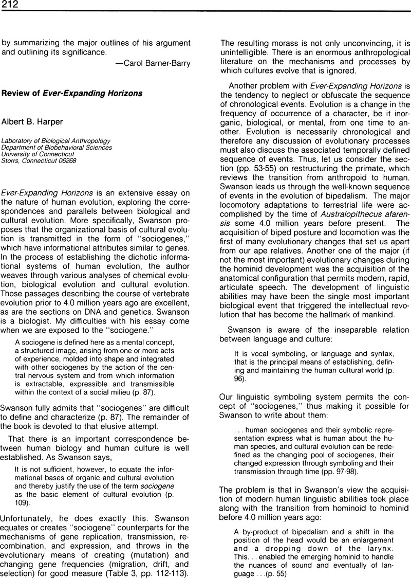 Review Of Ever Expanding Horizons Politics And The Life Sciences