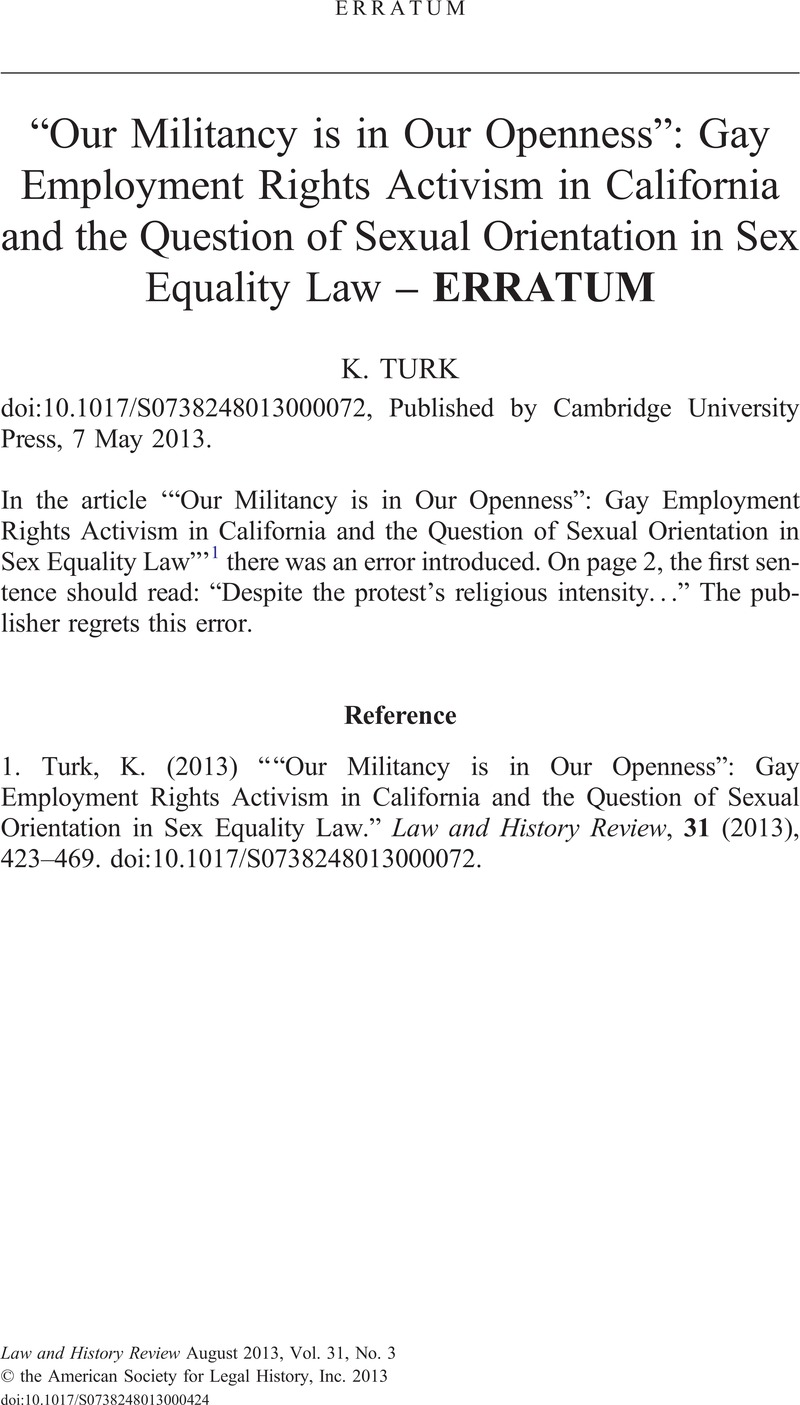 California sex law