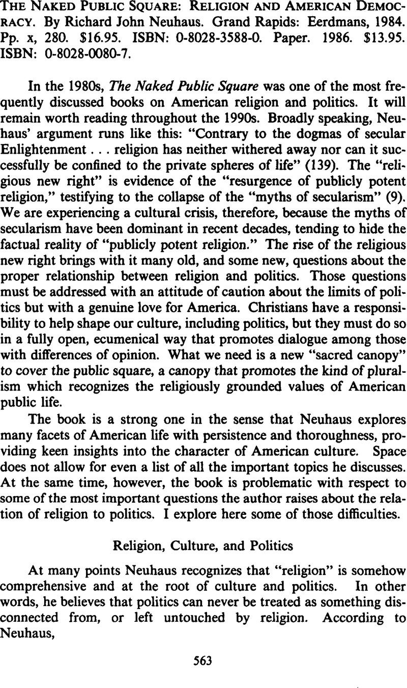 how are religion and culture connected