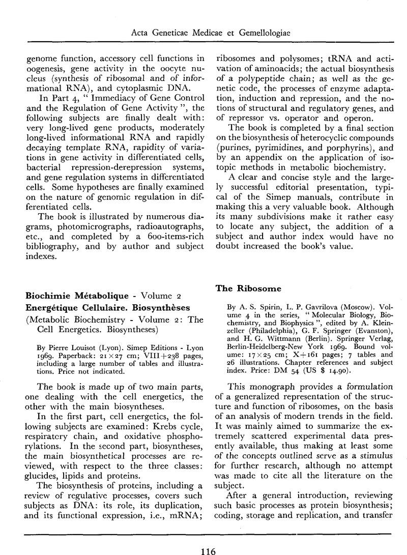 Biochimie Metabolique Pdf