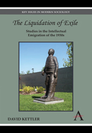 The Liquidation Of Exile By David Kettler border=