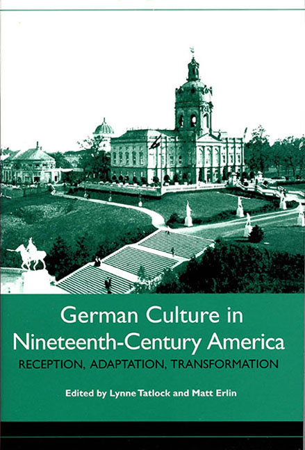 German Culture in Nineteenth-Century America