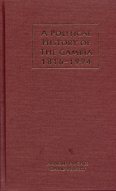 A Political History of the Gambia, 1816–1994