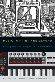 Music in Print and Beyond