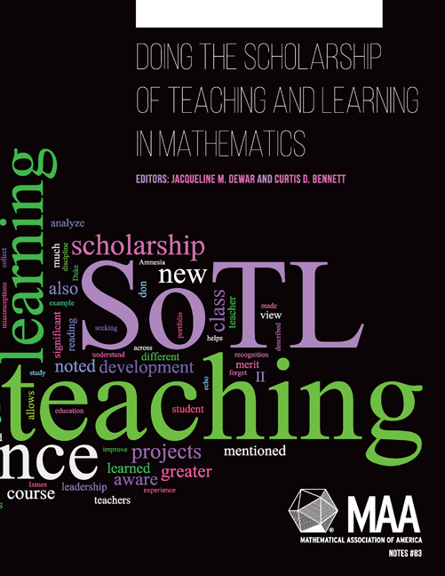 Doing the Scholarship of Teaching and Learning in Mathematics