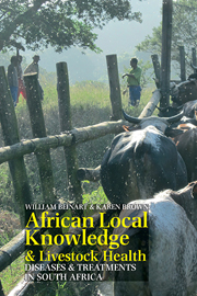 African Local Knowledge and Livestock Health