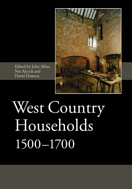 West Country Households, 1500–1700
