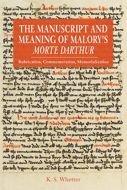 5d8a9c51752 The Manuscript and Meaning of Malory s ...