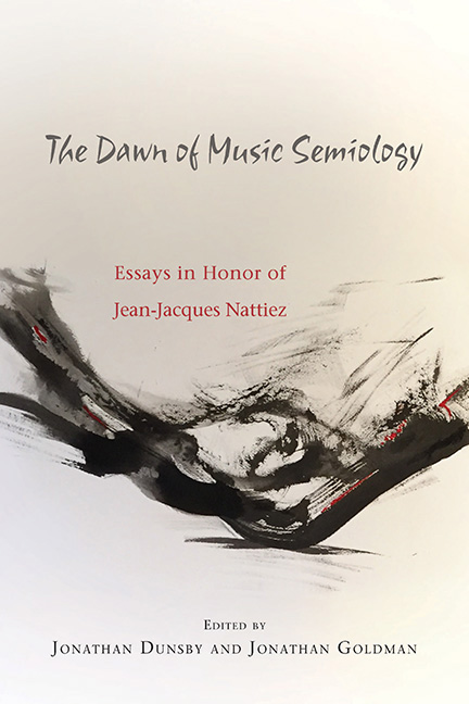 The Dawn of Music Semiology