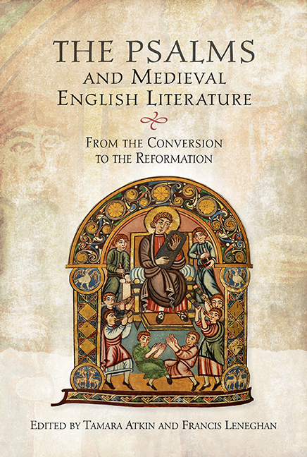 The Psalms and Medieval English Literature