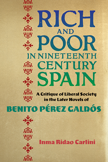 Rich and Poor in Nineteenth-Century Spain