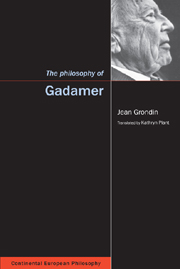 The Philosophy of Gadamer