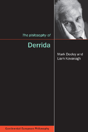 The Philosophy of Derrida