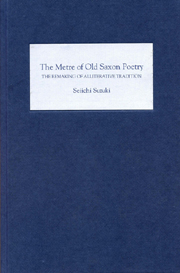The Metre of Old Saxon Poetry