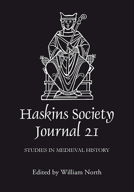 The Haskins Society Journal 21