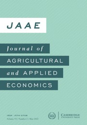 Journal of Agricultural and Applied Economics