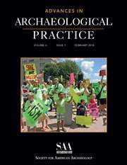 Advances in Archaeological Practice Volume 6 - Issue 1 -