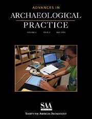Advances in Archaeological Practice Volume 6 - Issue 2 -