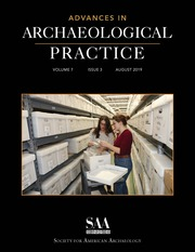 Advances in Archaeological Practice Volume 7 - Special Issue3 -  Archaeological Collections Care: Current Topics and Innovative Trends in the Repository
