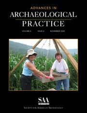 Advances in Archaeological Practice Volume 8 - Issue 4 -
