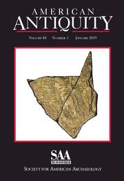 American Antiquity Volume 84 - Issue 1 -