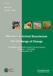 Advances in Animal Biosciences