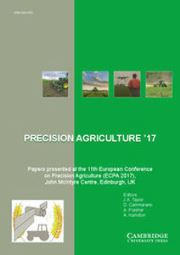 Advances in Animal Biosciences Volume 8 - Special Issue2 -  Papers presented at the 11th European Conference on Precision Agriculture (ECPA 2017), John McIntyre Centre, Edinburgh, UK, July 16–20 2017