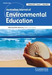 Australian Journal of Environmental Education Volume 28 - Issue 1 -