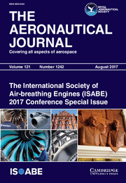 The Aeronautical Journal Volume 121 - Special Issue1242 -  The International Society of Air-breathing Engines (ISABE) 2017 Conference Special Issue