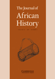 The Journal of African History Volume 50 - Issue 2 -