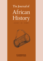 The Journal of African History Volume 51 - Issue 1 -