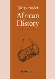 The Journal of African History Volume 53 - Issue 1 -