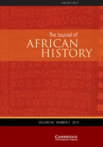 The Journal of African History Volume 54 - Issue 2 -