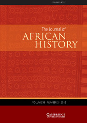 The Journal of African History Volume 56 - Issue 2 -