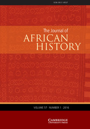 The Journal of African History Volume 57 - Issue 1 -