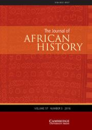 The Journal of African History Volume 57 - Issue 3 -