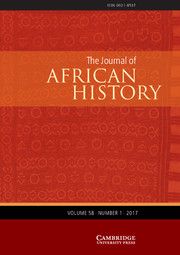 The Journal of African History Volume 58 - Issue 1 -