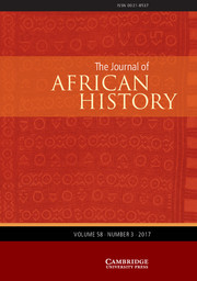 The Journal of African History Volume 58 - Issue 3 -