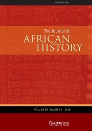 The Journal of African History Volume 59 - Issue 1 -