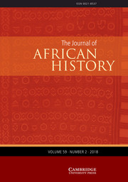 The Journal of African History Volume 59 - Issue 2 -