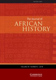 The Journal of African History Volume 59 - Issue 3 -