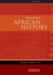 The Journal of African History Volume 60 - Issue 3 -
