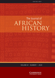 The Journal of African History Volume 61 - Issue 1 -