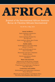 Africa Volume 88 - Issue 2 -