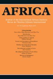 Africa Volume 88 - SupplementS1 -