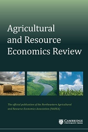 Agricultural and Resource Economics Review Volume 47 - Issue 1 -